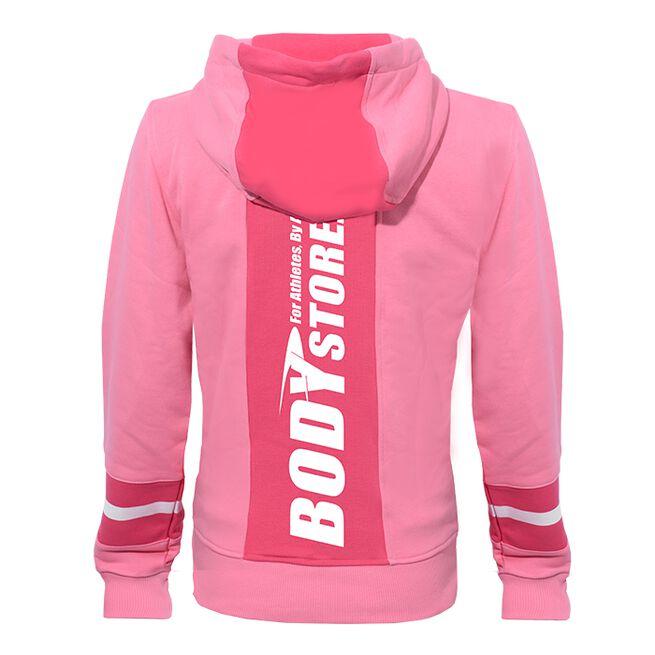 Bodystore.dk Zip Hood, Cerice/Pink, XS