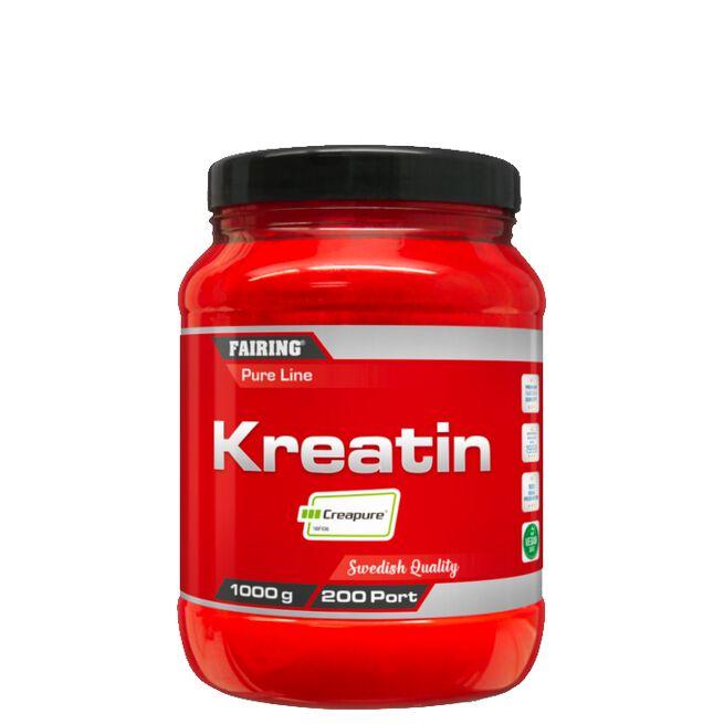 Fairing Kreatin Monohydrat, 1000 g, Naturell