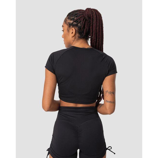 Scrunch T-shirt, Black, L
