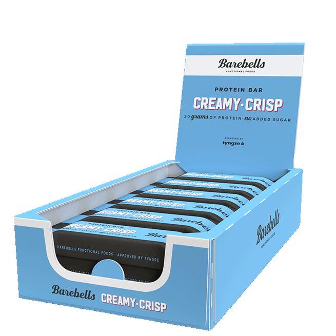12 x Barebells Protein Bar, 55 g, Creamy Crisp