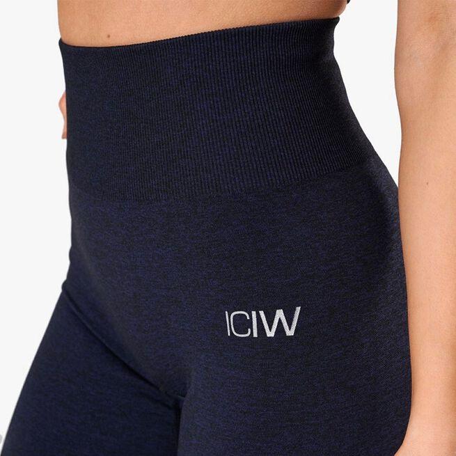 ICIW Queen Mesh Tights, Navy Melange