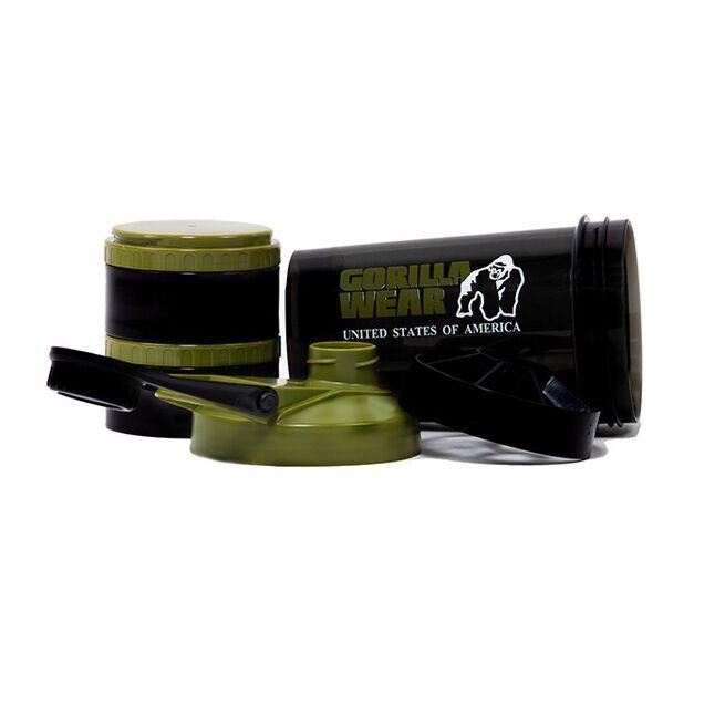Shaker 2 Go 760 ml, Black/Army Green