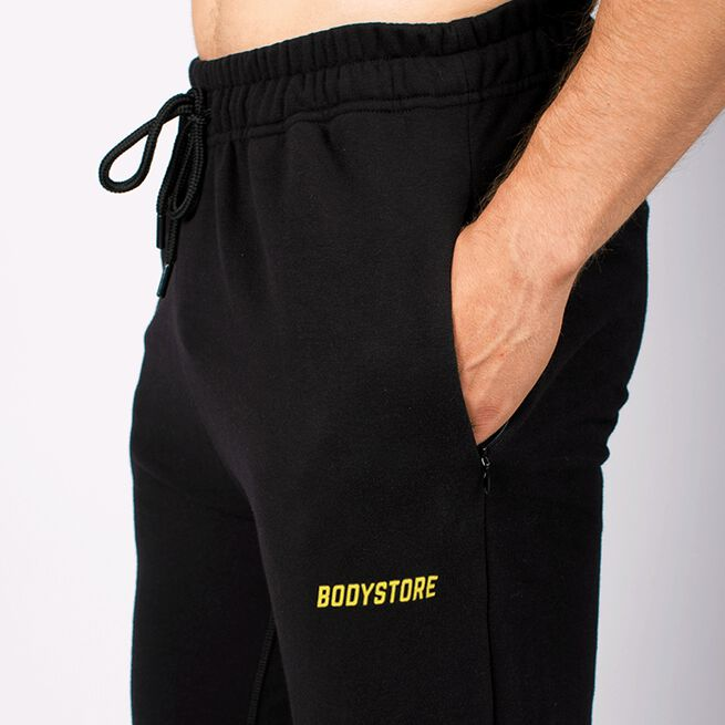 Bodystore Men Sweat Pants, Black