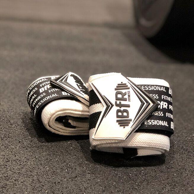 """BfR Pro Wrist Wrap, White, 18"""""""