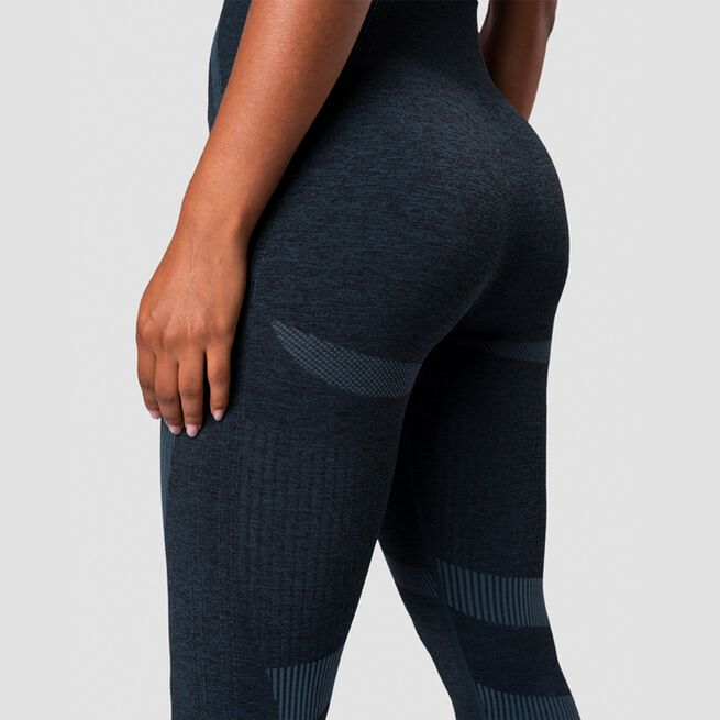 ICANIWILL Nombre Seamless Tights Dark Teal Melange