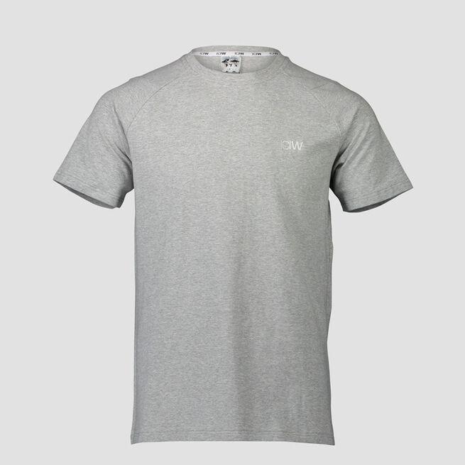 ICANIWILL Essential T-shirt Light Grey