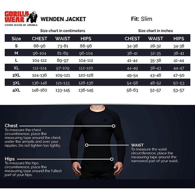 Wenden Track Jacket, Black/White, S