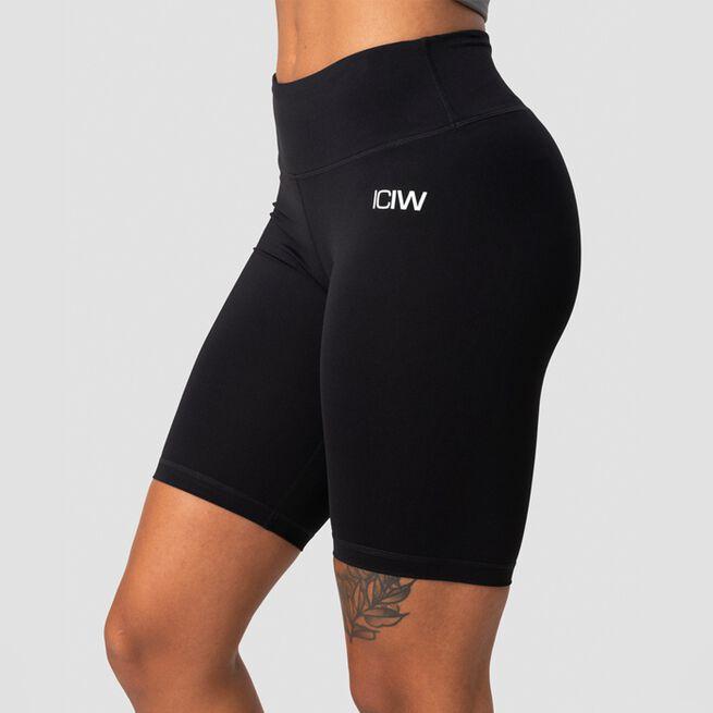 ICANIWILL Classic V-Shape Biker Shorts, BlackICANIWILL Classic V-Shape Biker Shorts, Black