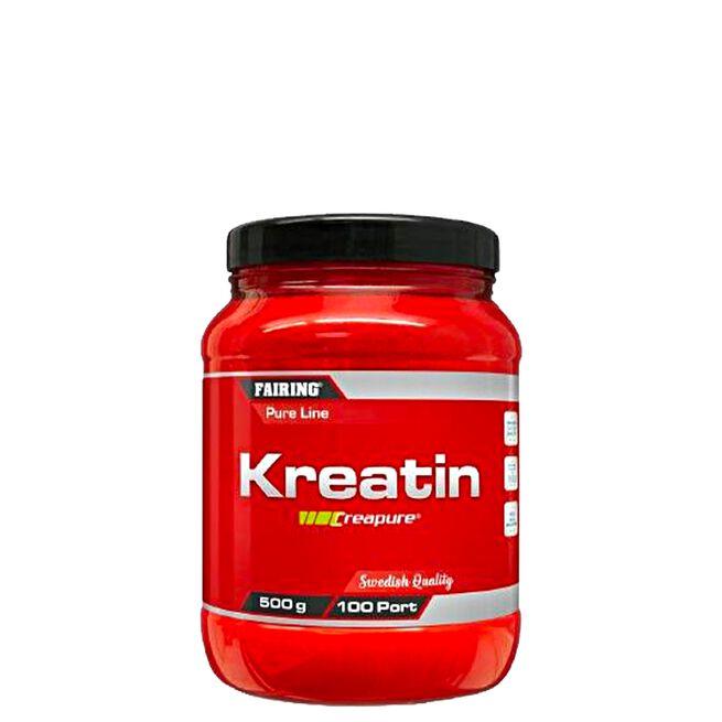 Fairing Kreatin Monohydrat, 500 g, Naturell