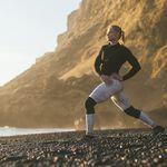 RX Knee Sleeve, 7mm, Carbon Black, XS