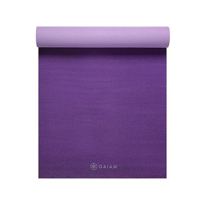 Premium Plum Jam 2-Color Yoga Mat, 6mm