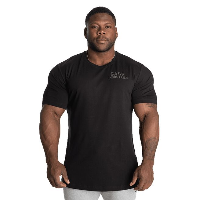 89 Classic Tapered Tee, Black