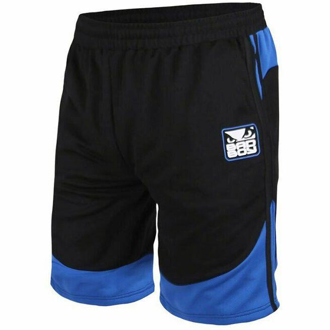 BAD BOY Force Shorts, Black/Blue, L