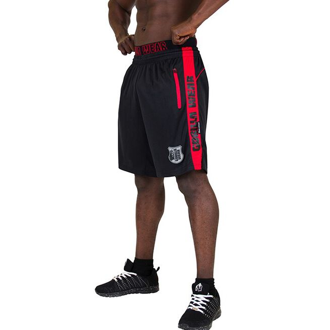 Shelby Shorts, Black/Red, L