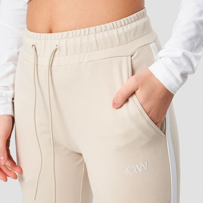 ICANIWILL Activity Stripe Pants Sand