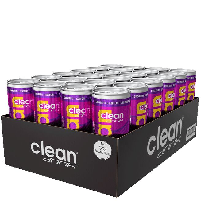 24 x Clean Drink, 330 ml,  Passion DK