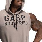 Gasp Thermal sl Hoodie, Steel Grey