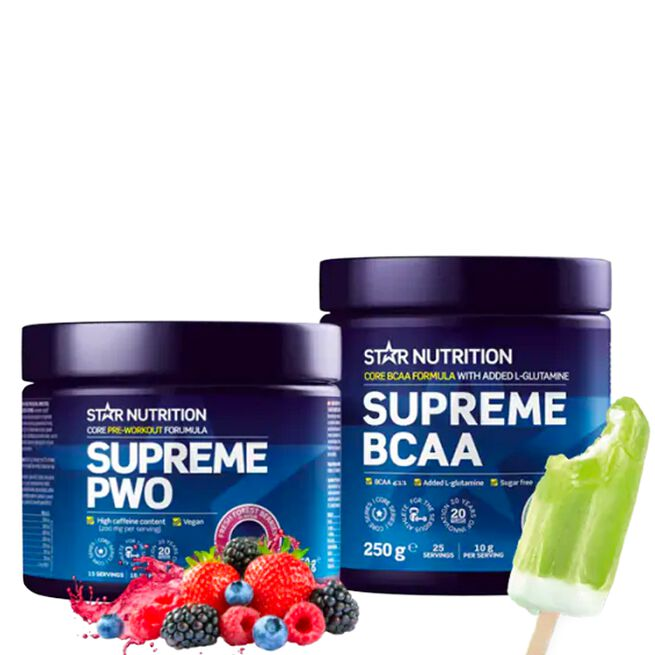 Star nutrition Pre and intra workout