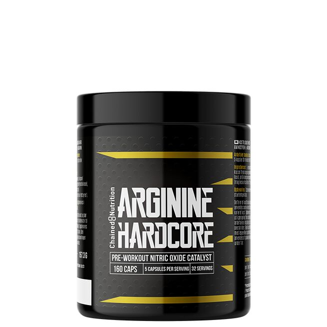 Chained Nutrition Arginine hardcore 160 caps