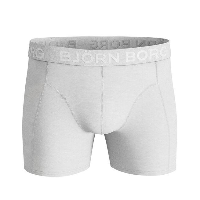 Björn Borg 2-Pack Sammy Solid Shorts, Brilliant White