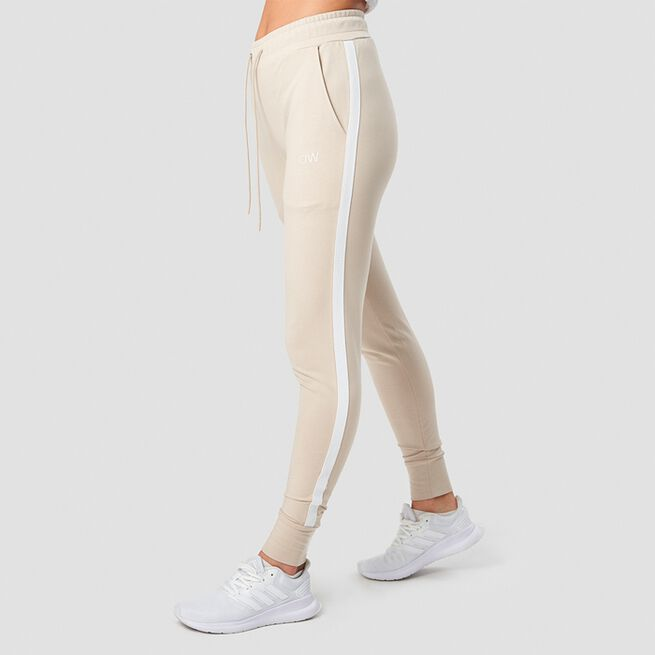 ICANIWILL Activity Stripe Pants Sand