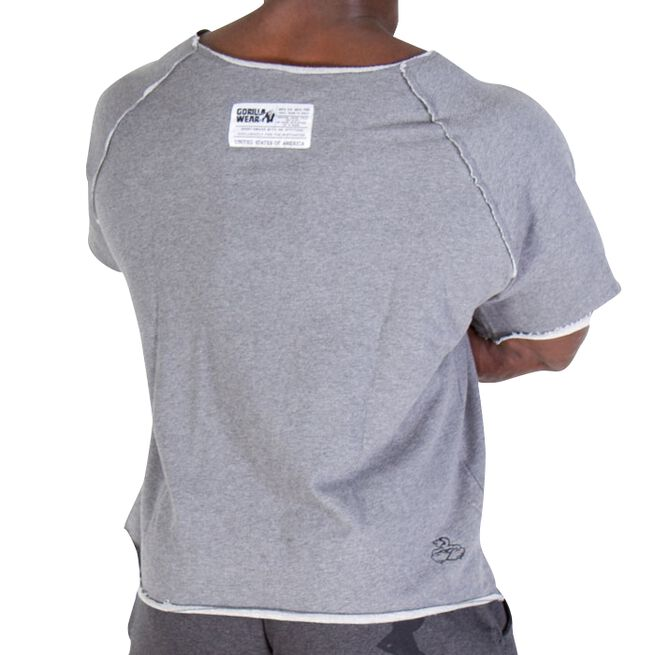 Classic Workout Top, grey, S/M