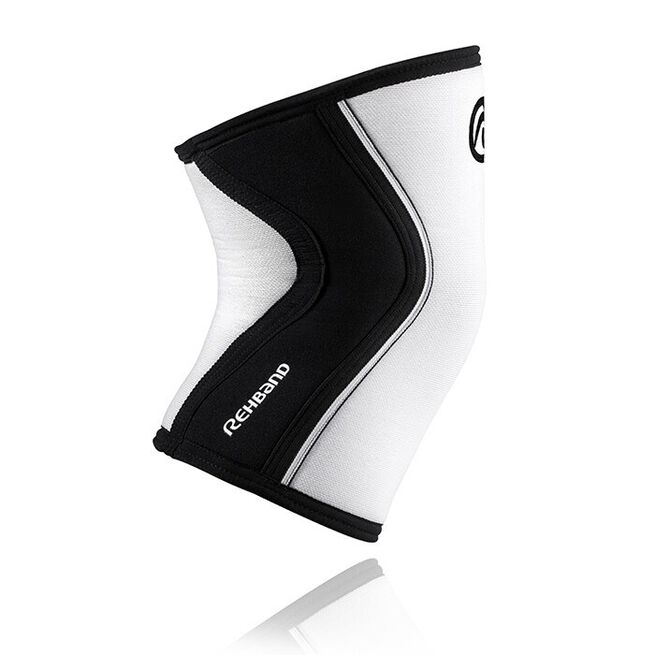 RX Knee Sleeve, 7mm, White/Black, XS