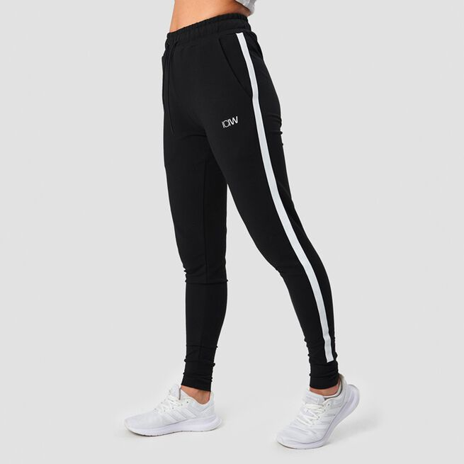 ICANIWILL Activity Stripe Pants Black