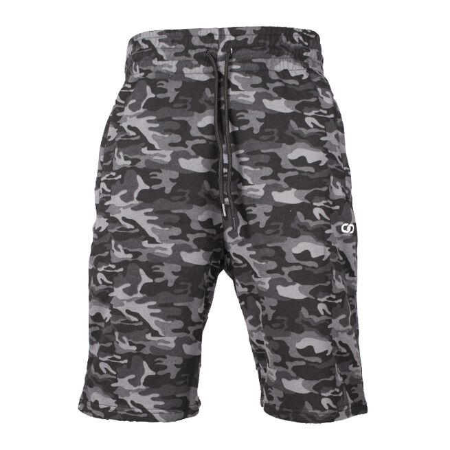 Chained Shorts, Black Camo, L