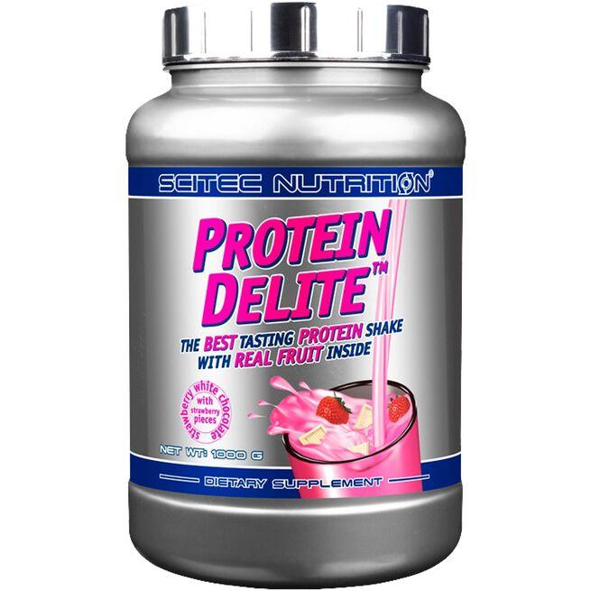 Protein Delite, 1000 g, Strawberry White-Chocolate