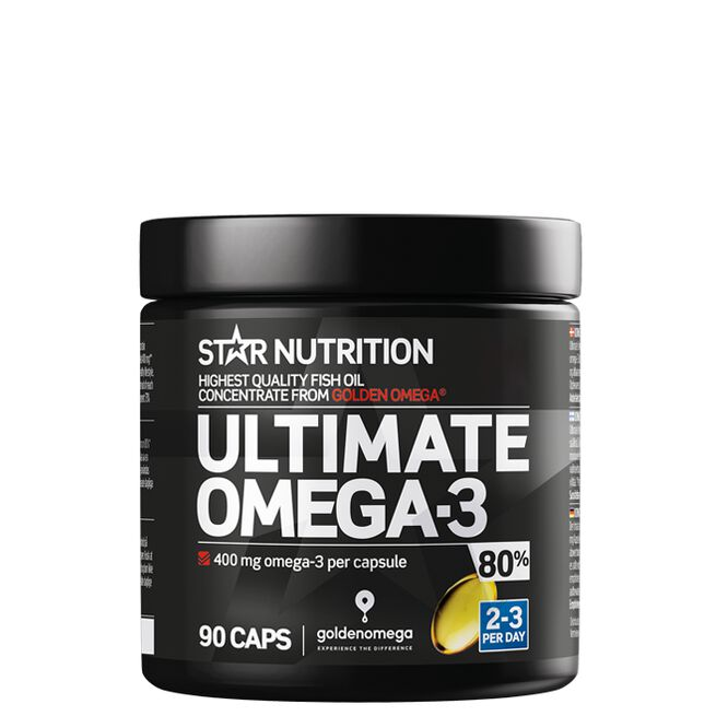 Star Nutrition Ultimate Omega3 80procent