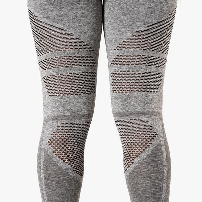 ICIW Queen Mesh Tights, Taupe