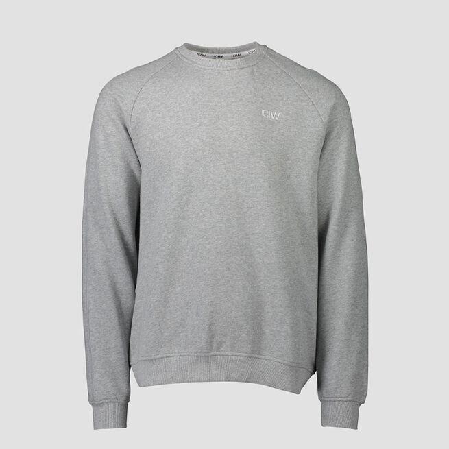 ICANIWILL Essential Crewneck Light Grey