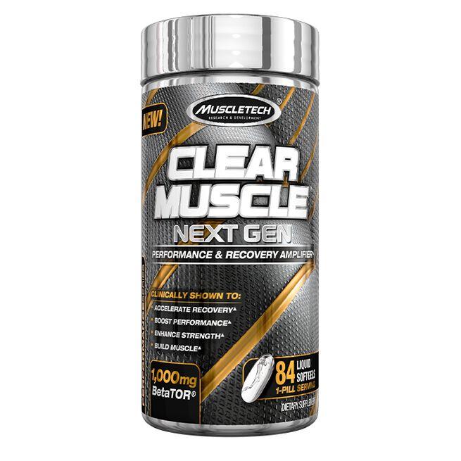 Clear Muscle Next Gen, 84 softgels