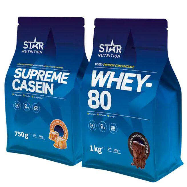 Star Nutrition Dag och nattpaket proteinpulver
