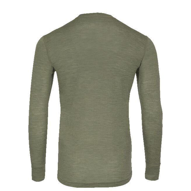 Sport Wool Top Men, Khaki, S