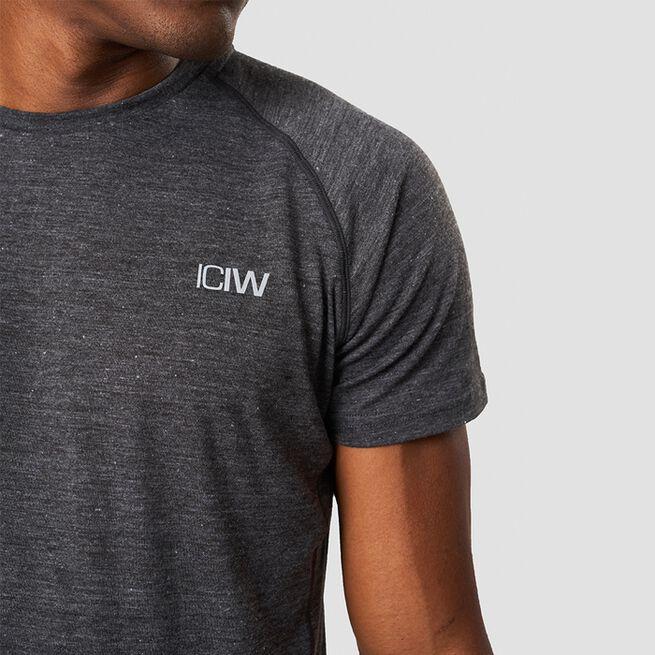 ICANIWILL Training Tri Blend T-shirt Graphite