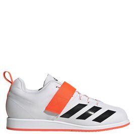 Adidas Powerlifter 4, White/Red/Black