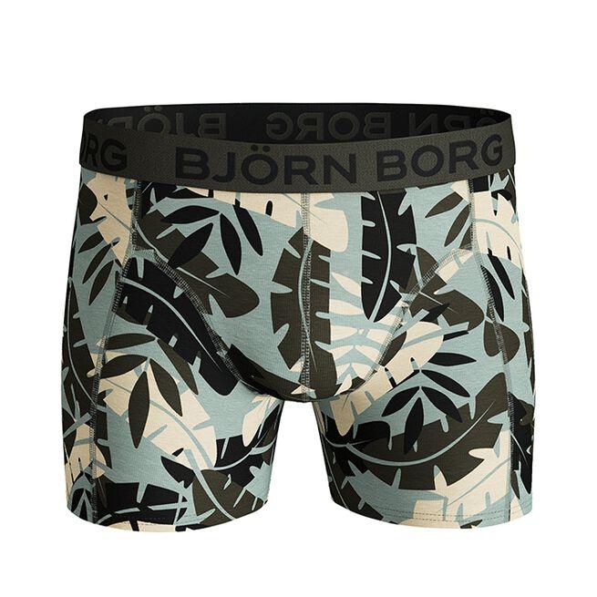 Björn Borg 2-Pack Sammy Shorts BB Jungle, Puritan Gray