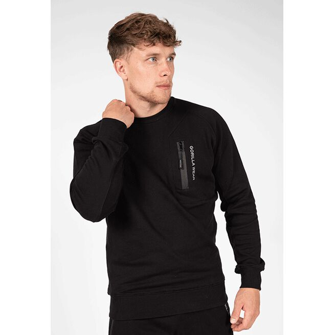 Newark Sweater, Black, S