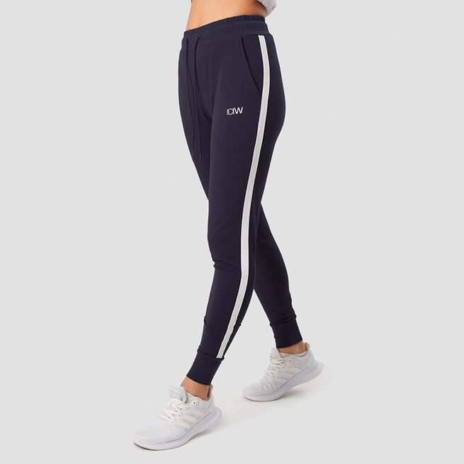 ICANIWILL Activity Stripe Pants Navy