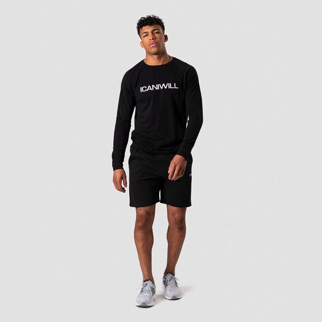 Essential Long Sleeve, Black, L