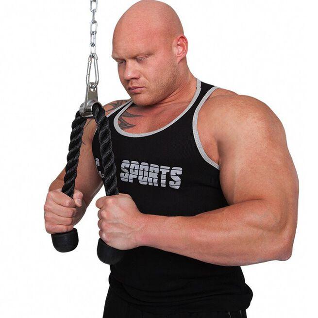 Triceps Rope, 70 cm, Black