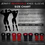 Jerkfit Reversible Knee Sleeves-SMALL