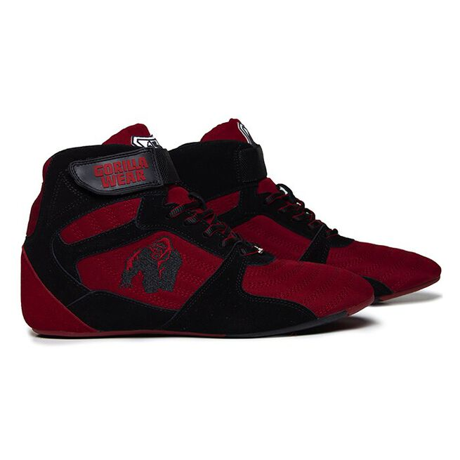 Perry High Tops Pro, Red/Black, 36