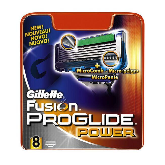 Gillette Blades Male ProGlide Power, 8 Pack