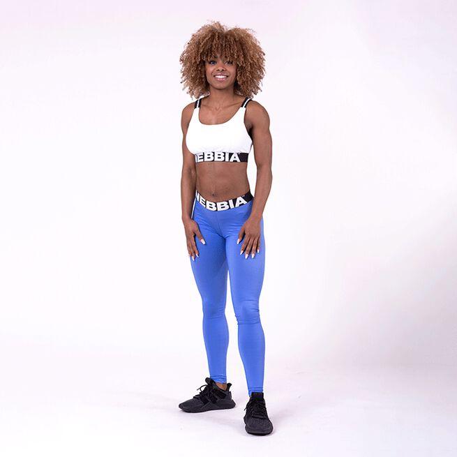 NEBBIA Scrunch Butt Sport Tights, Blue