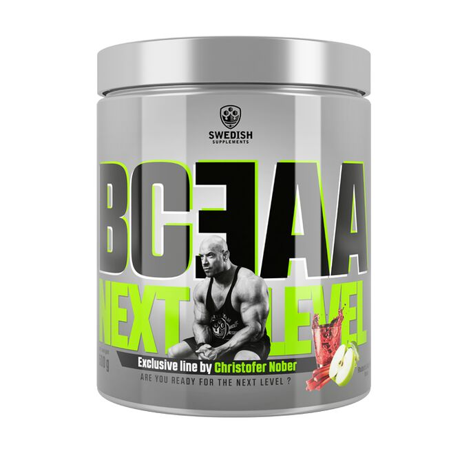 BCEAA Next Level, 500 g, Strawberry & Lime