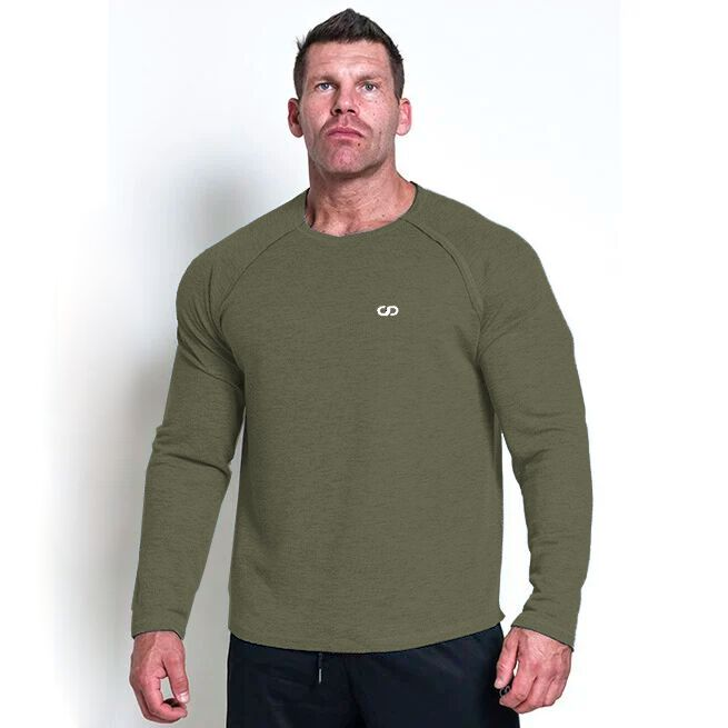 Chained L/S Thermal Sweat, Olive, L