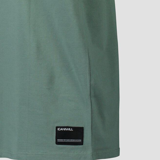 ICANIWILL Essential T-shirt Dark Sage